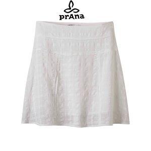 Prana mini skirt   Erin skirt 100% cotton